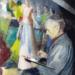 Takács István freskófestőről beszél Bán József helytörténész